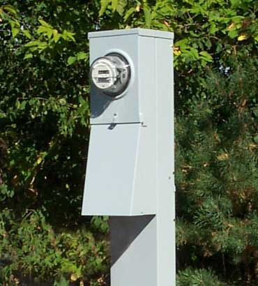 Mobile Home Electrical Service Pedestal 200 Amp