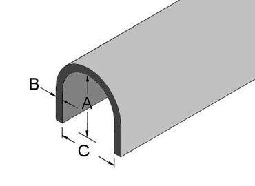Ground Wire Molding dimensions